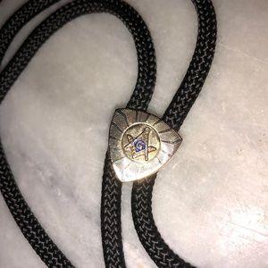 Freemason Bolo Tie